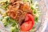 豚肉のショウガ焼きの作り方の手順