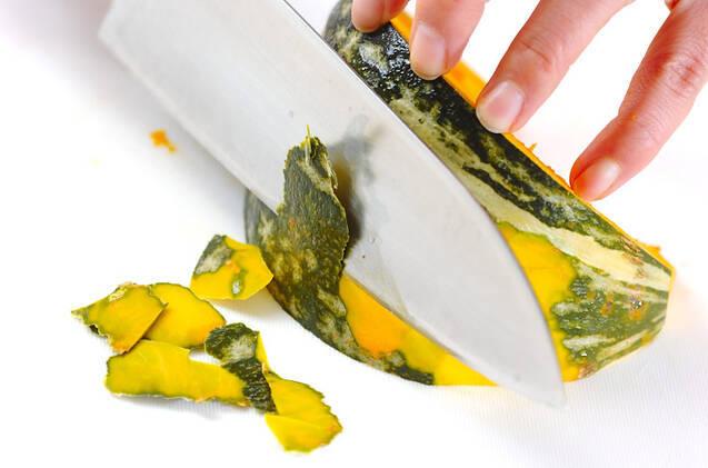 ポテトサラダハム巻きの作り方の手順2
