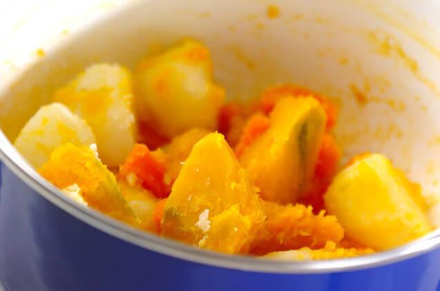 ポテトサラダハム巻きの作り方の手順8