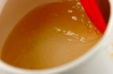 煎茶かん小豆汁粉の作り方1