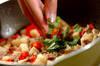 豚ひき肉でつくるガパオライスの作り方の手順6