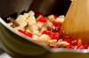 豚ひき肉でつくるガパオライスの作り方の手順5