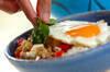 豚ひき肉でつくるガパオライスの作り方の手順8