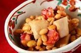 京芋とタコのさっぱり煮