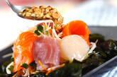 パリパリ春雨の刺身サラダの作り方7