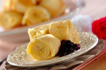ホットバナナロールケーキ