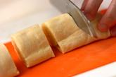 ホットバナナロールケーキの作り方4