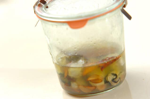 カキのオイル漬けの作り方の手順4