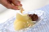 ラ・フランスのチョコソースの作り方4
