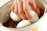 牛肉と卵のしょうゆ煮の作り方2