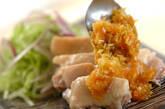 ゆで鶏のネギダレがけの作り方6