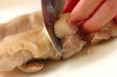 ゆで鶏のネギダレがけの作り方2