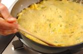 アサリの黒酢あんかけ卵焼きの作り方3