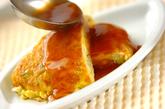 アサリの黒酢あんかけ卵焼きの作り方4