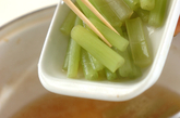 フキとゴボウ天の煮物の作り方2
