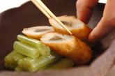 フキとゴボウ天の煮物の作り方3