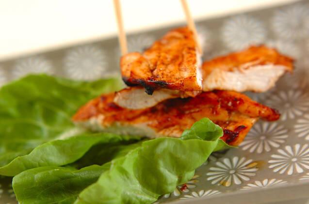 鶏ささ身のバーベキュー味の作り方の手順3