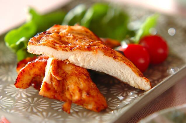 鶏ささ身のバーベキュー味