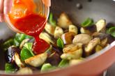 ナスのチリ炒めの作り方2
