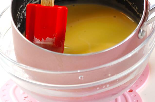 メープルプリンの作り方の手順4