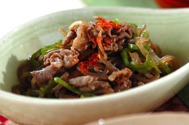 牛肉と糸コンの佃煮の料理写真
