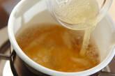 とろとろ卵のフカヒレあんかけチャーハンの作り方6