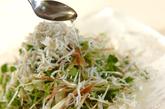 薬味野菜とシラスのサラダの作り方3