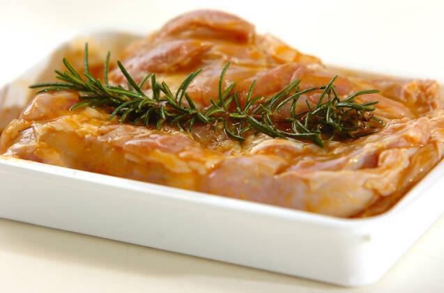 チキンのマスタードソテーの作り方の手順1