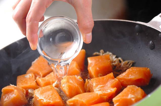 コンニャクのピリ辛炒めの作り方の手順4