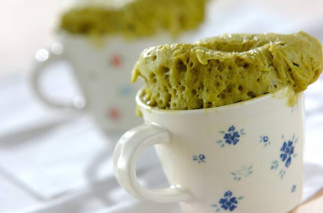 抹茶カップケーキ