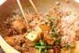 タケノコと豚肉の煮物の作り方3