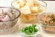 タケノコと豚肉の煮物の下準備2