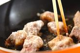 揚げずに酢豚の作り方1