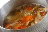 里芋の具だくさん煮物の作り方9