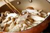 キノコのサラダの作り方の手順3