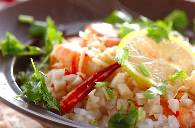 タイ米のスープごはん