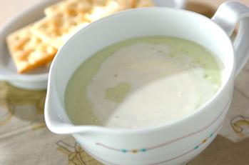 アボカドのスープ