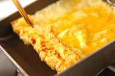 だし巻き卵の作り方3