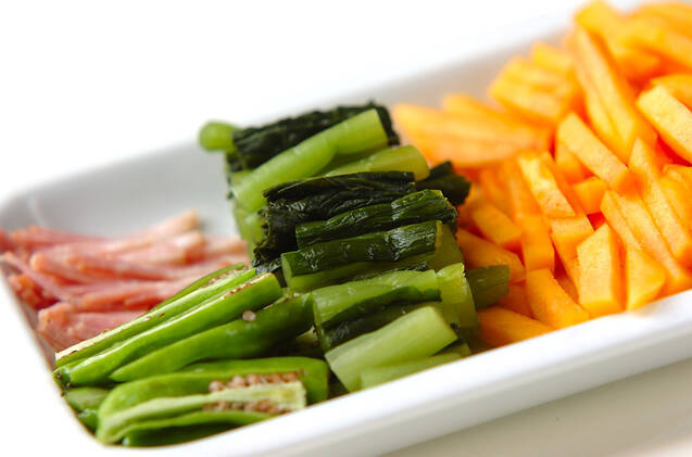 柿の炒め物の作り方の手順1