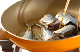 サンマの焼き煮の作り方1