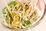 ミツバと大豆のかき揚げの作り方7