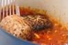 煮込みハンバーグの作り方の手順9