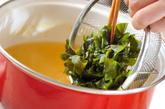 ワカメスープの作り方1