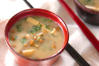 小粒納豆のおみそ汁