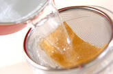 小粒納豆のおみそ汁の作り方1