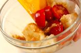 たたき長芋とプチトマトの和え物の作り方1