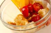 たたき長芋とプチトマトの和え物の作り方5