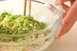 野菜とパスタのサラダの作り方2