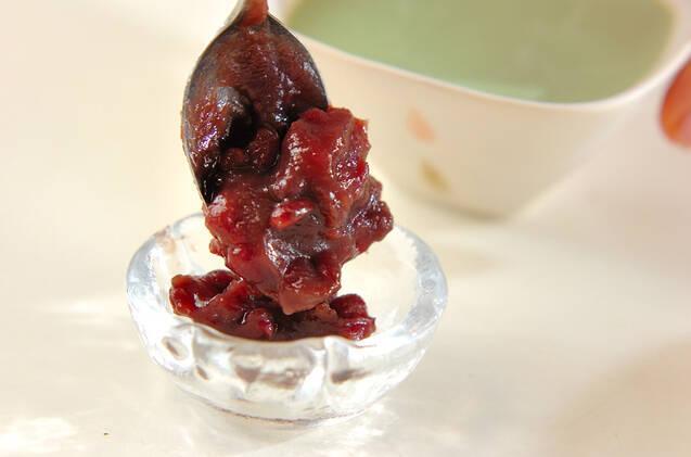 抹茶小豆プリンの作り方の手順5