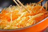 ジャガイモの炒めなますの作り方2